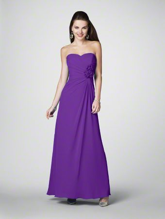 Alfred Angelo bridesmaid dress style 7180 in Viola.