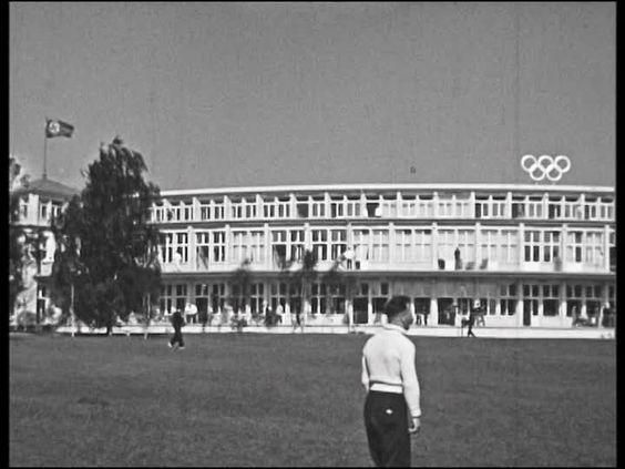 Haus der Nationen im Olympischen Dorf 1936