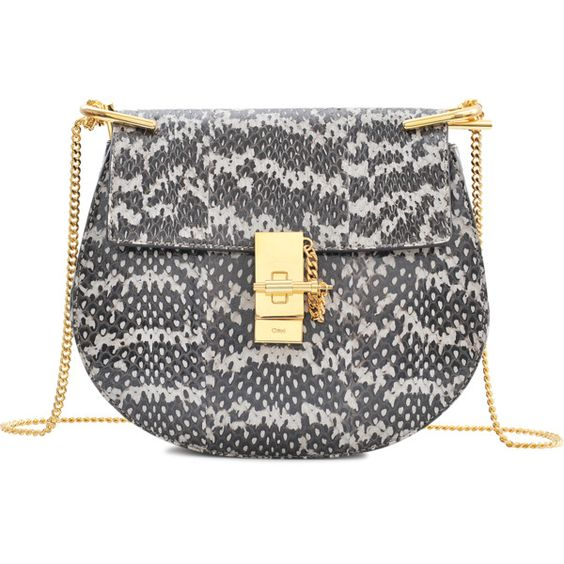 chloe bag online shop - Chlo�� Drew Small Chain Watersnake Bag ($2,125) ? liked on ...