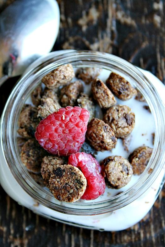 homemade cookie crisp cereal heathersfrenchpress.com #cereal #breakfaast
