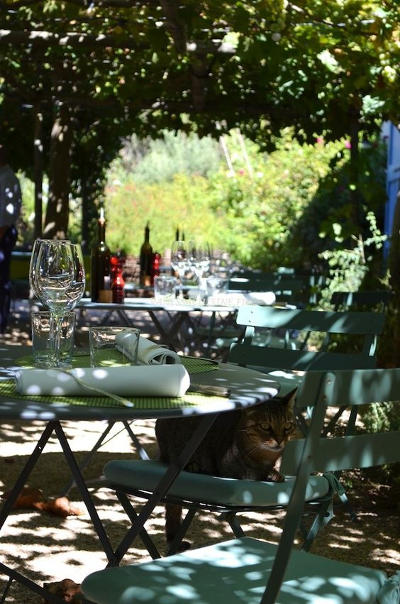 La Chassagnette restaurant à Arles (France)