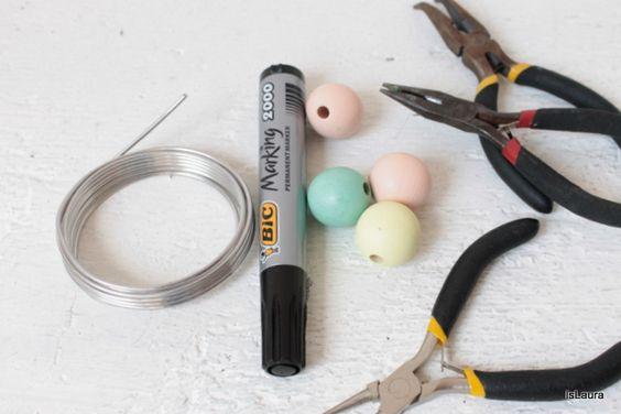 Come realizzare un anello in 2 minuti con le perle di legno – islaura