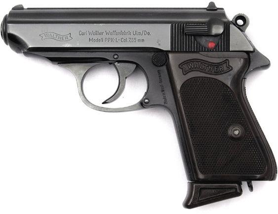 Walter PPK - James Bond's weapon of choice I want this gun