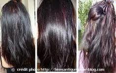 Riflessi viola sui capelli castani