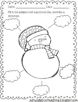 40 best images about winter: snowmen writing on