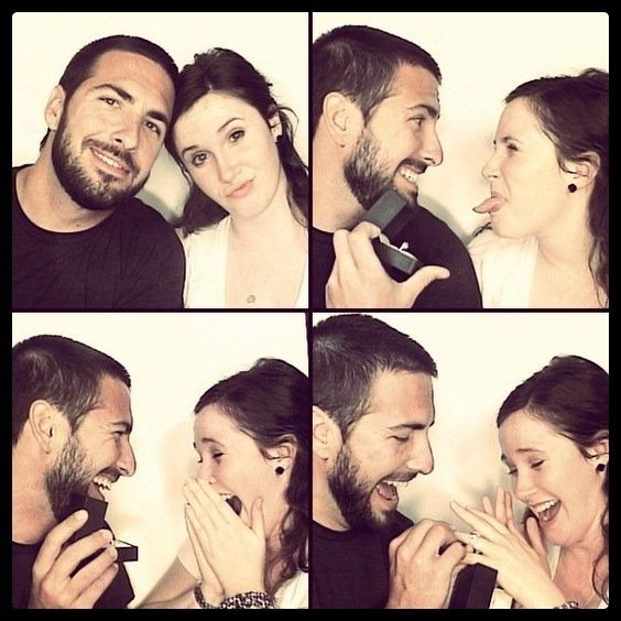 This is so freaking cute- wedding proposal in a photobooth. I think I love all things involving photobooths