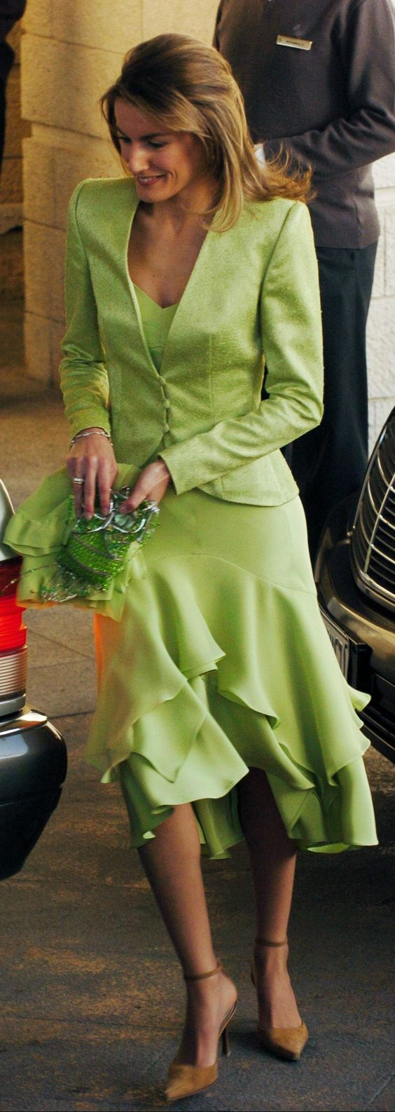LOVE THIS DRESS! Princess Letizia of Spain