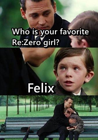 Funny re zero meme