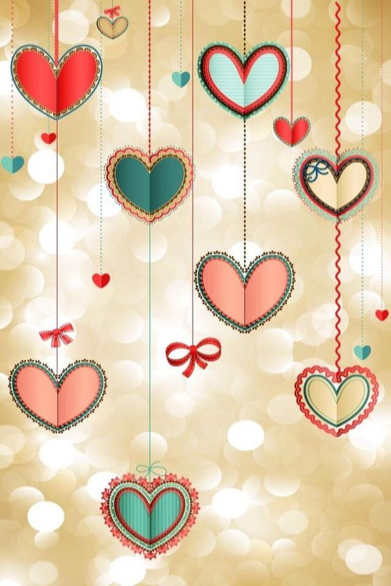 iPhone Wallpaper-Valentine's Day - Hearts tjn   iPhone ...