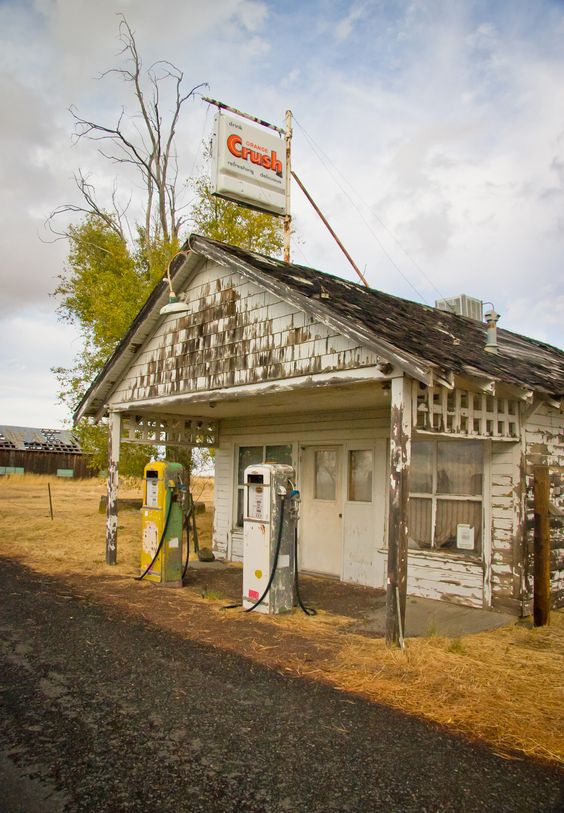 Sweet Old Gas Station My Photography Pinterest