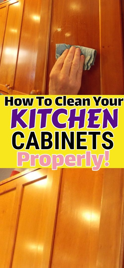 How To Clean Your Kitchen Cabinets Properly Clean Kitchen Cabinets Baking Soda Drain Cleaner Baking Soda Cleaner