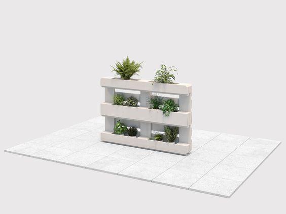 Pflanzregal Grunlich Create By Obi Pflanzen Regal Mobel Aus Paletten