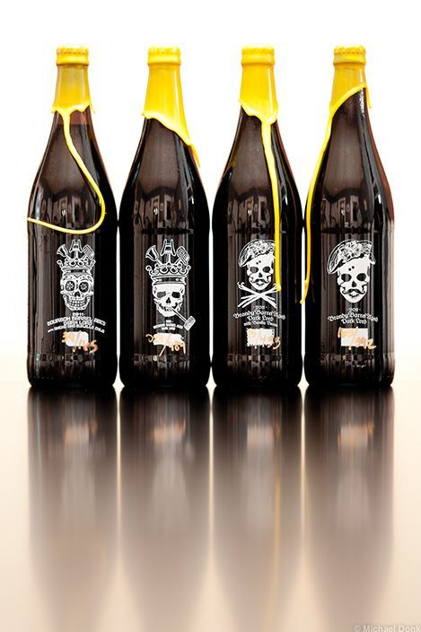 3 Floyds // 2011 Barrel Aged Dark Lord Variations Beer ... My oh my! Would kill for one of theese.