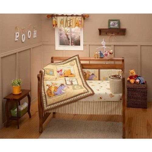 Winnie the pooh nursery baby room ideas nursery for Baby cot decoration