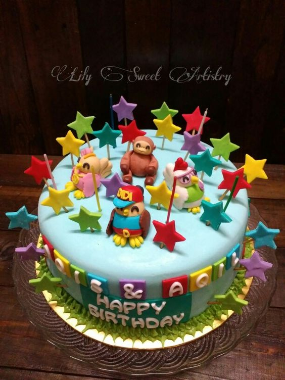 Images Of Birthday Cake For Didi : Didi and Friends Birthday Cake by Lily Sweet Artistry ...
