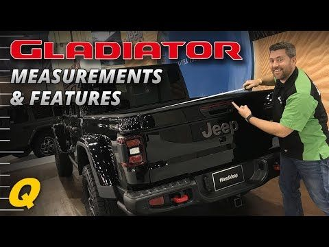 Jeep Gladiator Bed Dimensions Features Closer Look Youtube Jeep Gladiator Jeep Gladiator