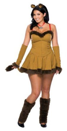 Wizard Of Oz Secret Wishes Cowardly Lioness Costume