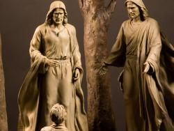 This is My Beloved Son | Bronze Sculptures of Jesus Christ | AJ Sculptures