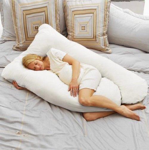 Quiero una almohada así, aun que no esté embarazada