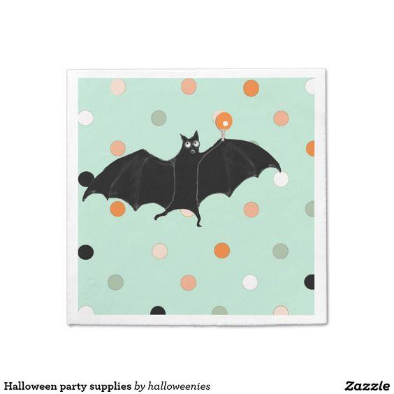 Halloween party supplies HALLOWEEN PARTY Paper Napkins Pinterest