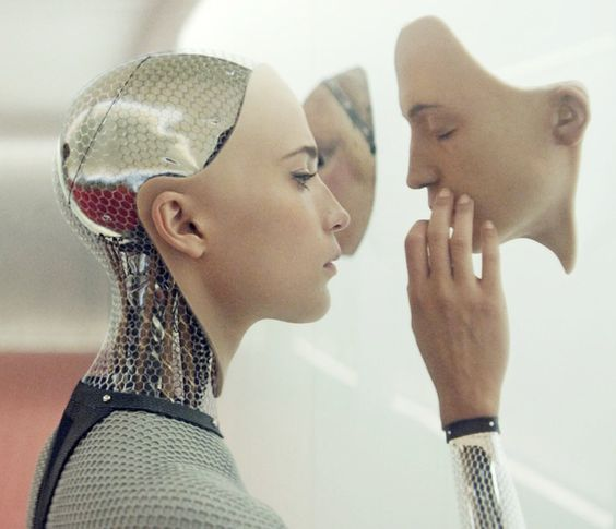 Alicia Vikander as Ava in EX MACHINA (2015)