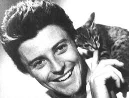 French actor Gérard Philippe with ....a friend