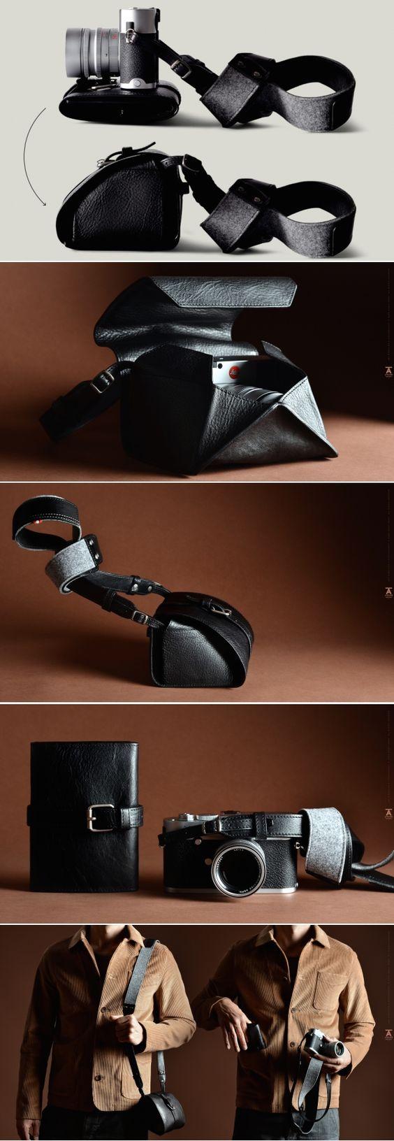 #hardgraft Atelier Pop Up Camera Case