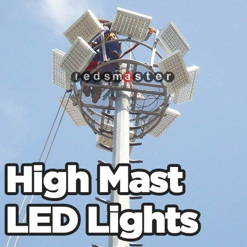 Metal Halide Replacement With Led For High Mast Installation Suggestion From Ledsmaster By Suki Tian Unlike Metal Halide The Bigge Flood Lights Led Led Flood