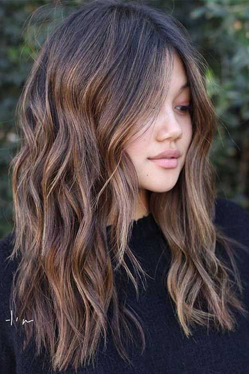 40 Best Long Bob Haircut Ideas 2020 Bob Haircut And Hairstyle Ideas Haircut For Thick Hair Wig Hairstyles Brown Hair With Highlights