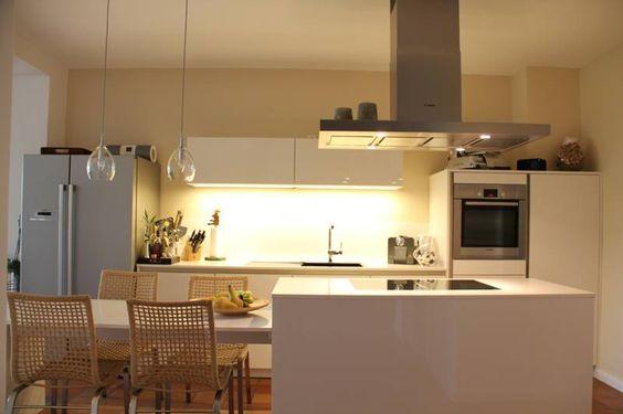 küche mit kochinsel - Google-Suche Kitchen Pinterest Küche - kche mit kochinsel landhaus