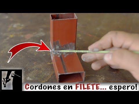 Soldadura En Filete Clases De Soldadura Para Principiantes Parte 6 Youtube Soldadura Soldadura Electrodo Como Soldar
