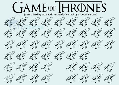 game of thrones chords on guitar