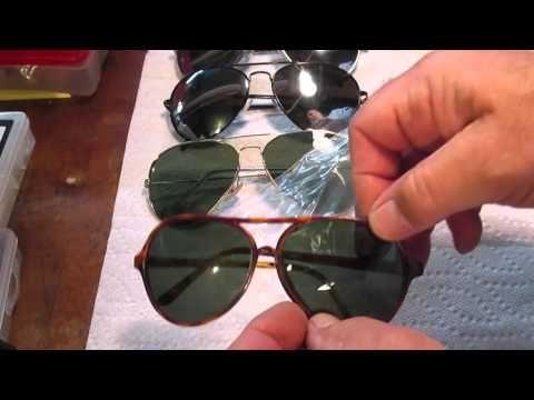1937 Bausch And Lomb Aviator Repair Youtube Bausch Lomb Repair Round Sunglasses
