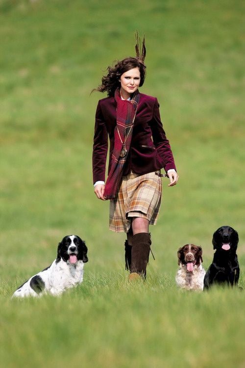 Hey! Give me back my outfit and my dogs, Crazy Lady...! (I wouldn