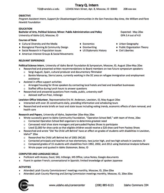 Electrical Engineer Sample Resume - http\/\/exampleresumecvorg - science resume example