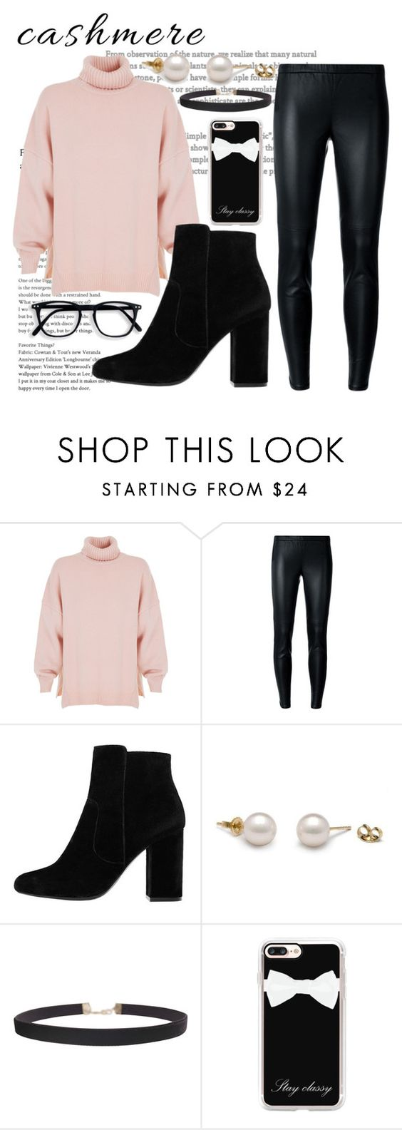 """Pinky promise 💕"" by rebeckarosdahl ❤ liked on Polyvore featuring TIBI, MICHAEL Michael Kors, MANGO, Humble Chic and Casetify"