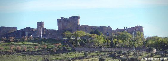 Vista del Castillo de Oropesa (Toledo)