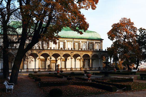 Renaissance villa Belvedere, Prague, Czechia #prague #czechia #czechrepublic
