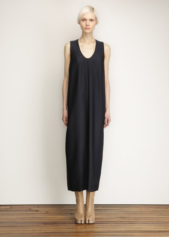 Suzanne Rae Exclusive Long Tank Dress (Blue / Black)