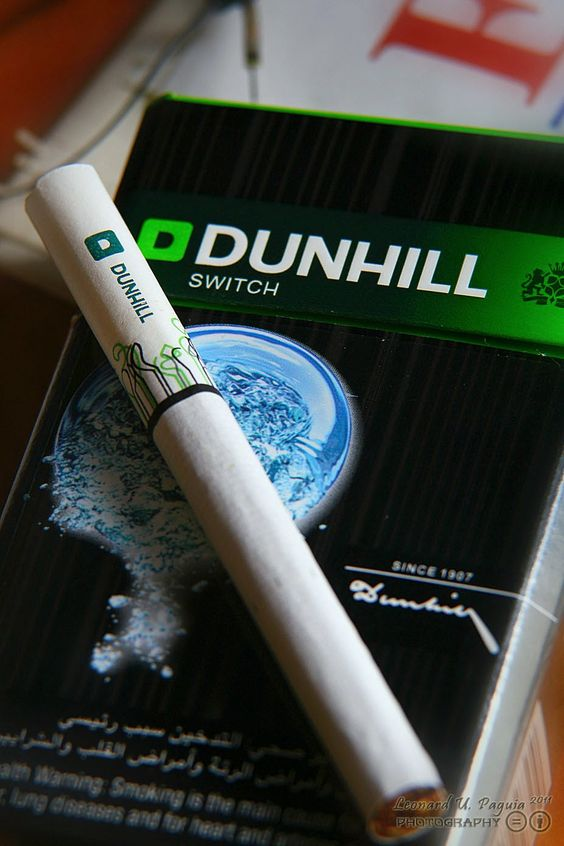 Packet of cigarettes Dunhill cost USA