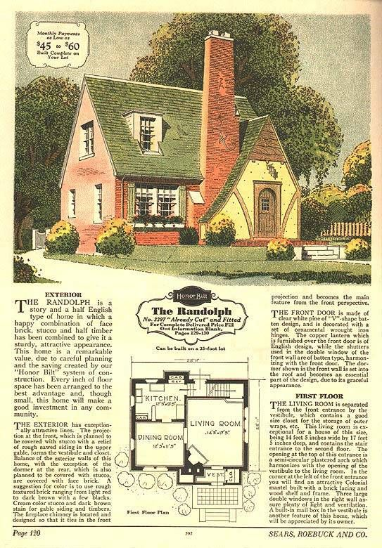 s Sears House Plan for a Cotswold Cottage   I rented a Sears     s Sears House Plan for a Cotswold Cottage   I rented a Sears house for awhile