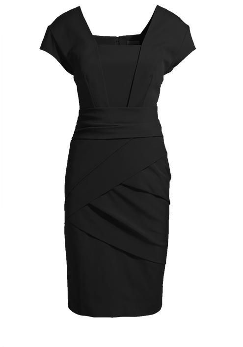 Black Fitted Dress...you can never have to many little black dresses. :)