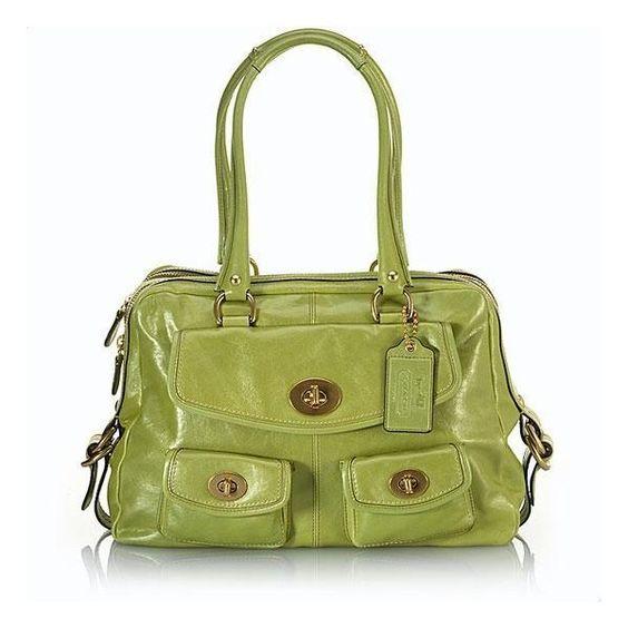 "Coach Leather 'Peyton"" Handbag found on Polyvore"