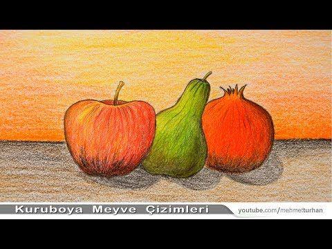 Naturmort Meyve Cizimi Nasil Yapilir Kuru Boya Resim Calismasi How To Draw Still Life Fruits Videolu Ruya Tabirleri 2020 Cizim Naturmort Resim