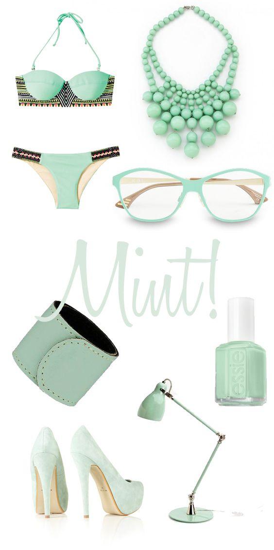 Spring Color: Mint
