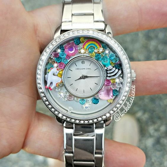 origami owl watch designed for the lularoe consultant or