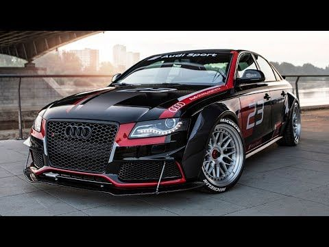 Crazy Project Audi A4 B8 Dtm From A Fwd 2 0tdi Into A V8