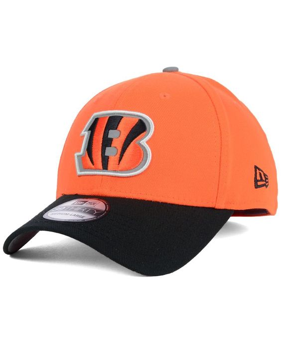 New Era Cincinnati Bengals On Field Reflective 39THIRTY Cap