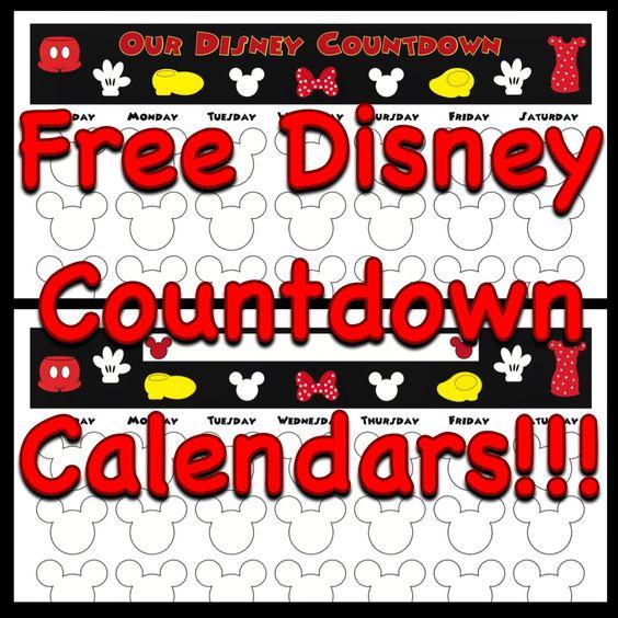 Free Mickey Mouse Calendar 2016 Printable | Calendar Template 2016