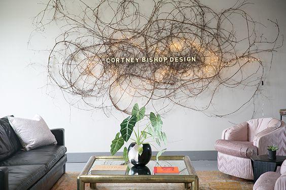 branch art installation